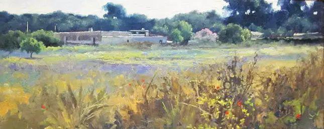 西班牙画家费尔米 garcia sevilla风景画欣赏插图57