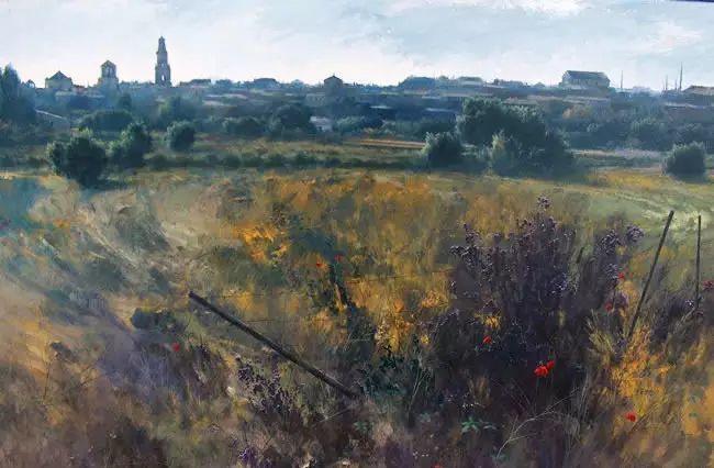 西班牙画家费尔米 garcia sevilla风景画欣赏插图59