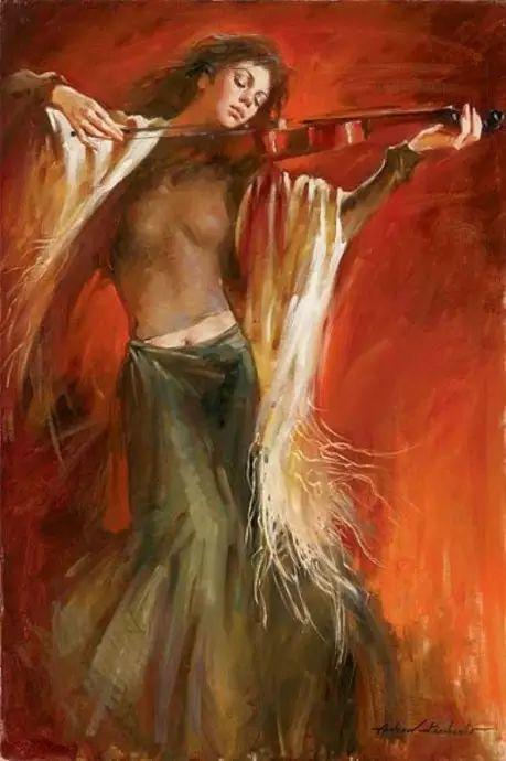 拉丁风情 俄罗斯Andrew Atroshenko油画作品插图29
