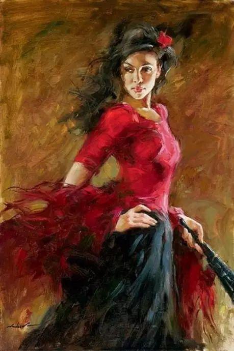 拉丁风情 俄罗斯Andrew Atroshenko油画作品插图33