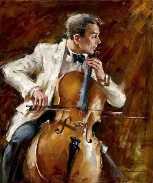拉丁风情 俄罗斯Andrew Atroshenko油画作品插图39