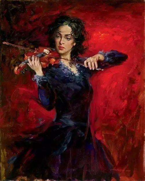 拉丁风情 俄罗斯Andrew Atroshenko油画作品插图59