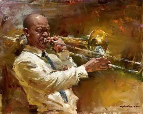 拉丁风情 俄罗斯Andrew Atroshenko油画作品插图67