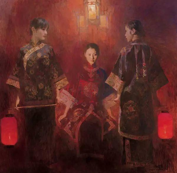 油画世界:陈衍宁油画人物插图21