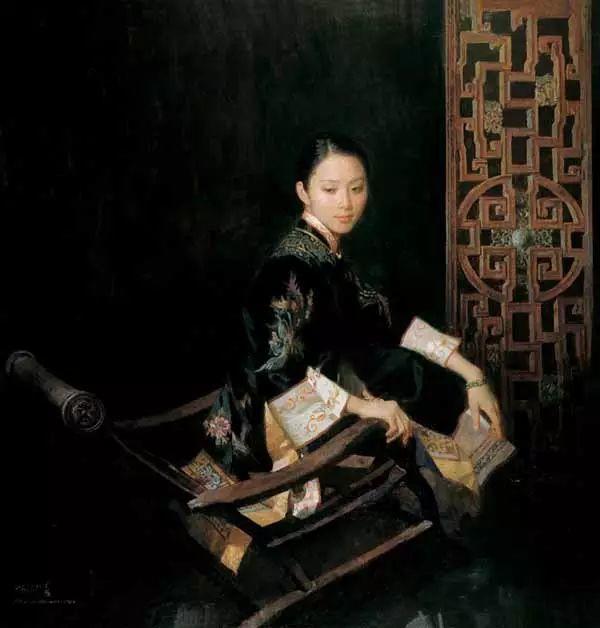 油画世界:陈衍宁油画人物插图39