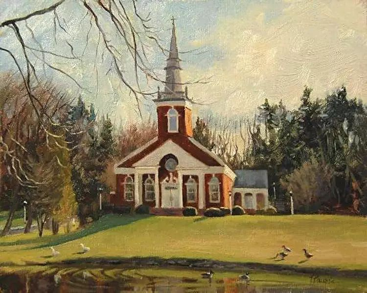 油画世界:加拿大Lili Anne Laurin作品插图19