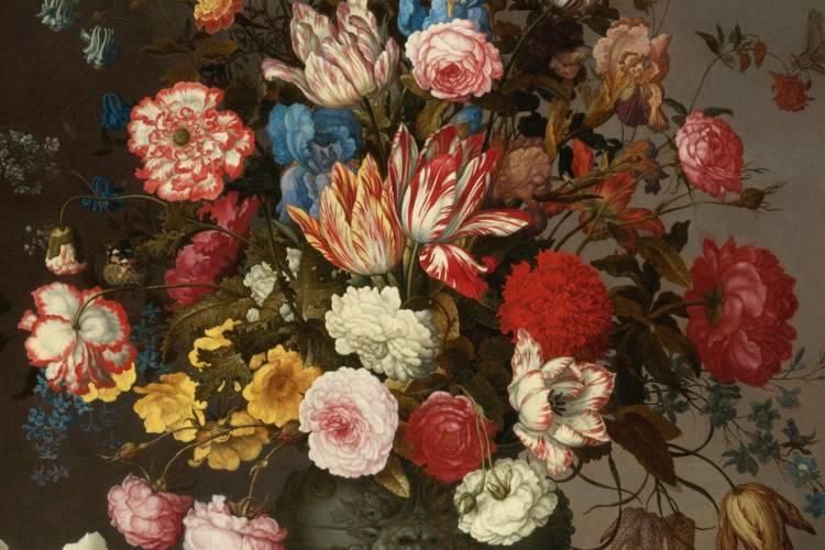 花卉静物 荷兰画家Balthasar van der Ast作品插图1