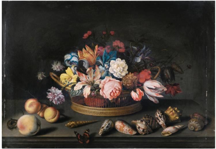 花卉静物 荷兰画家Balthasar van der Ast作品插图15