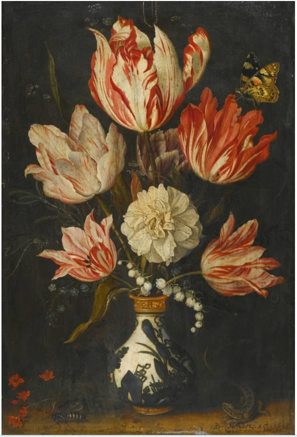 花卉静物 荷兰画家Balthasar van der Ast作品插图19