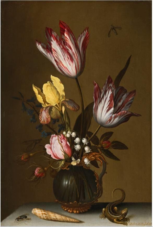 花卉静物 荷兰画家Balthasar van der Ast作品插图23