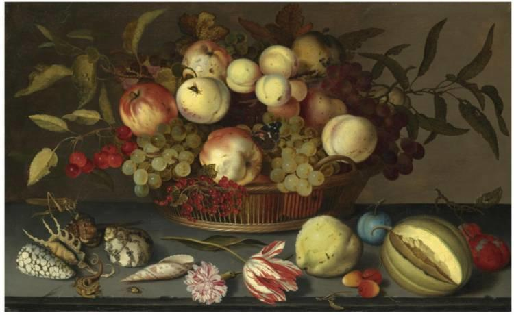 花卉静物 荷兰画家Balthasar van der Ast作品插图33