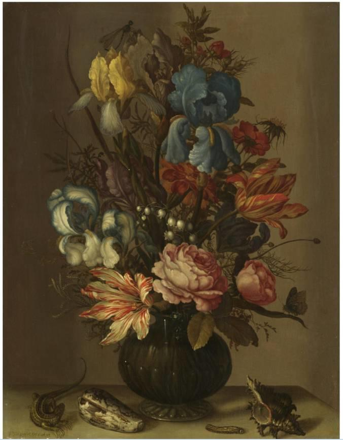 花卉静物 荷兰画家Balthasar van der Ast作品插图37