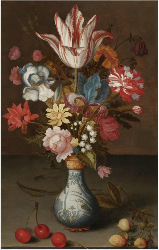 花卉静物 荷兰画家Balthasar van der Ast作品插图39