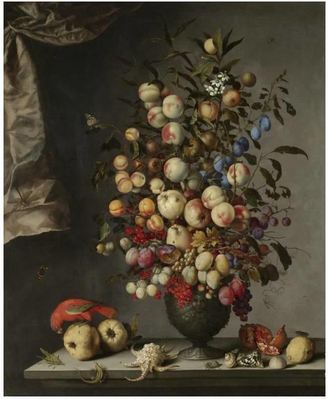 花卉静物 荷兰画家Balthasar van der Ast作品插图41