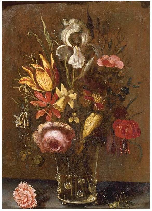 花卉静物 荷兰画家Balthasar van der Ast作品插图43