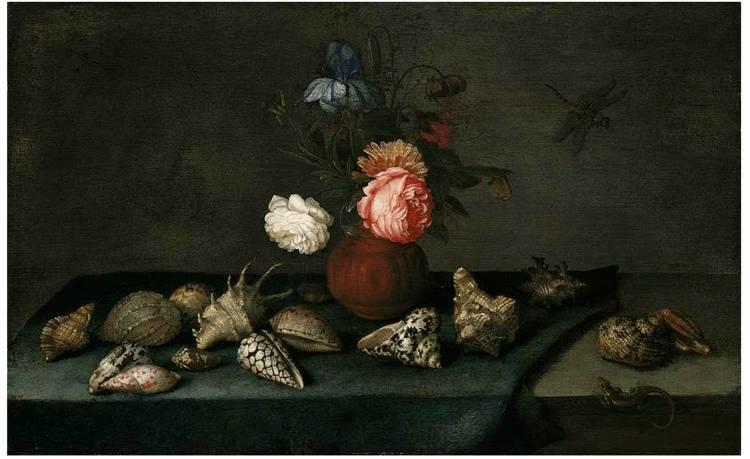 花卉静物 荷兰画家Balthasar van der Ast作品插图45