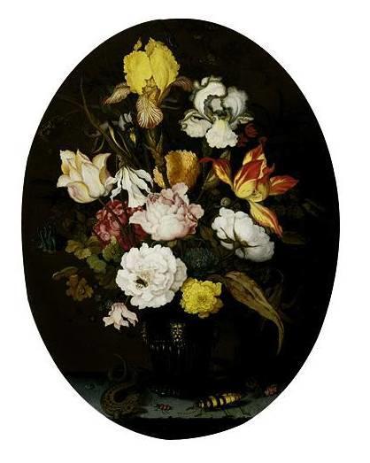 花卉静物 荷兰画家Balthasar van der Ast作品插图47