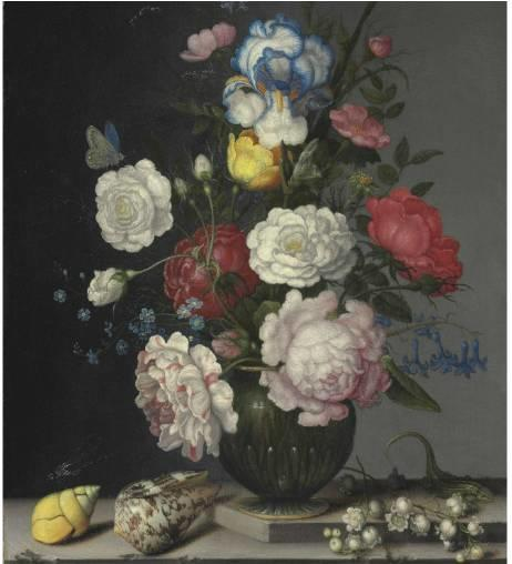 花卉静物 荷兰画家Balthasar van der Ast作品插图57