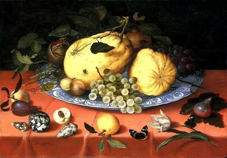 花卉静物 荷兰画家Balthasar van der Ast作品插图77