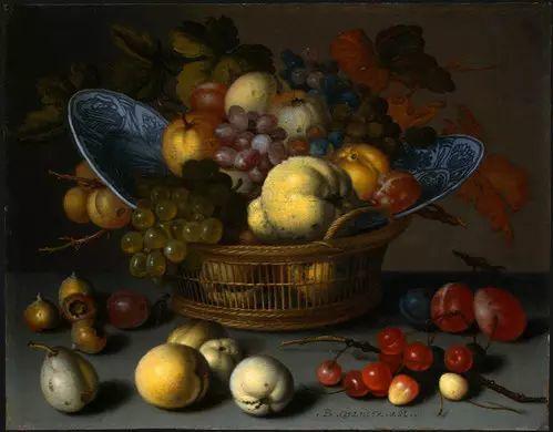 花卉静物 荷兰画家Balthasar van der Ast作品插图101