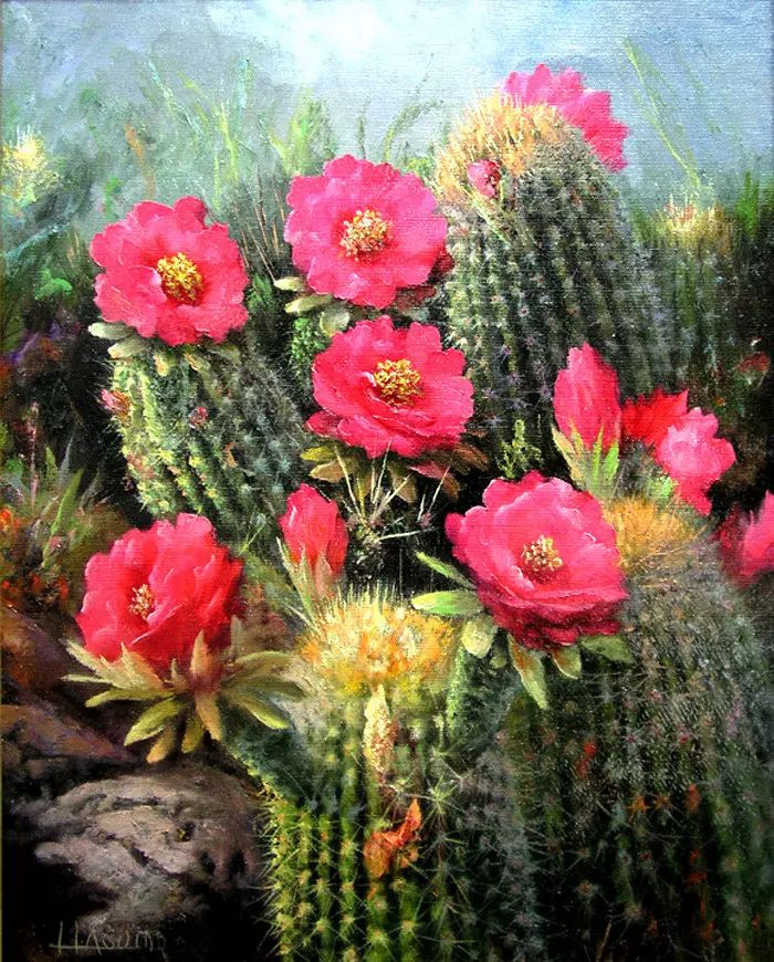 油画世界:阿根廷Huertas Aguiar作品插图3