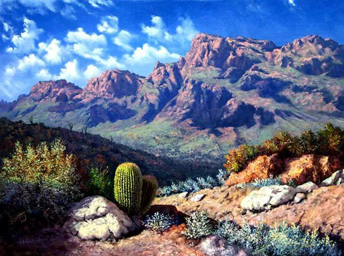 油画世界:阿根廷Huertas Aguiar作品插图11