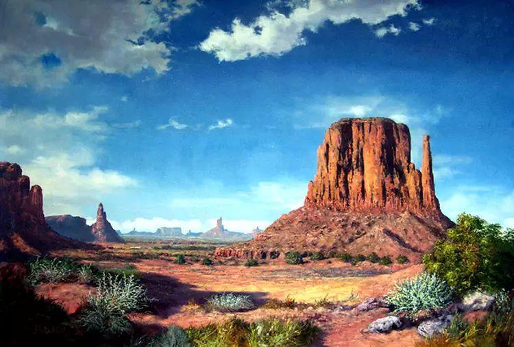 油画世界:阿根廷Huertas Aguiar作品插图23