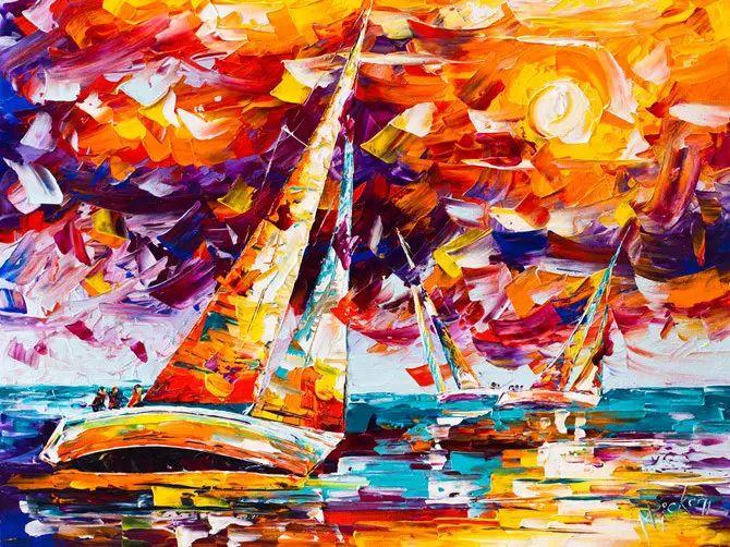 艳丽的色彩 Micko vic油画作品欣赏插图3