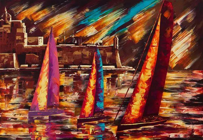 艳丽的色彩 Micko vic油画作品欣赏插图5