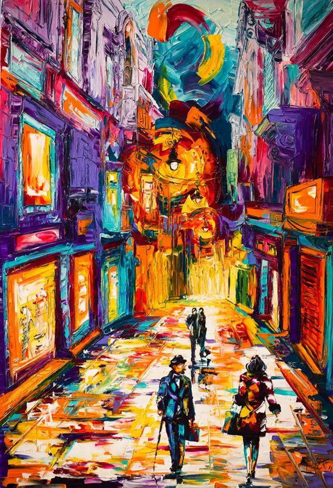 艳丽的色彩 Micko vic油画作品欣赏插图7