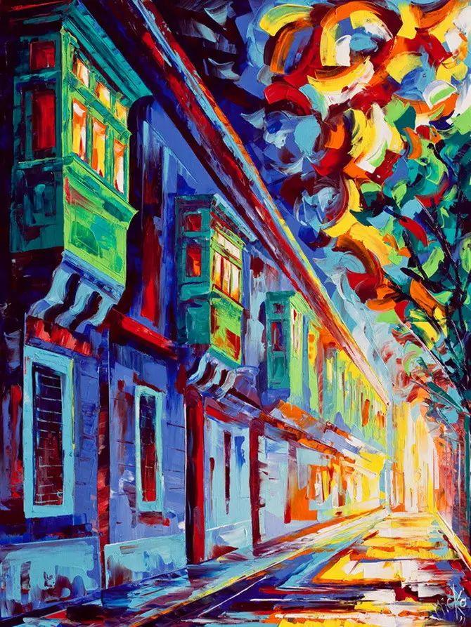 艳丽的色彩 Micko vic油画作品欣赏插图9