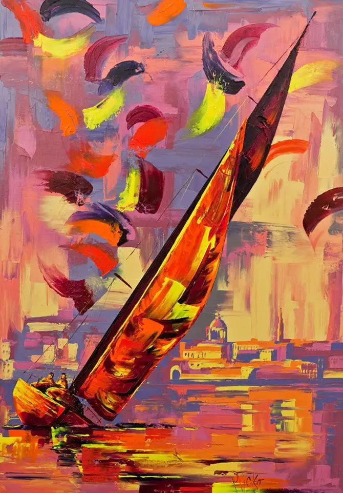艳丽的色彩 Micko vic油画作品欣赏插图13