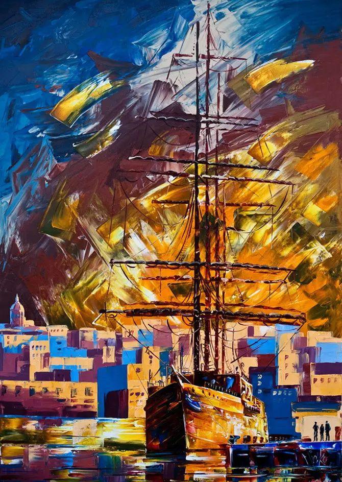 艳丽的色彩 Micko vic油画作品欣赏插图15
