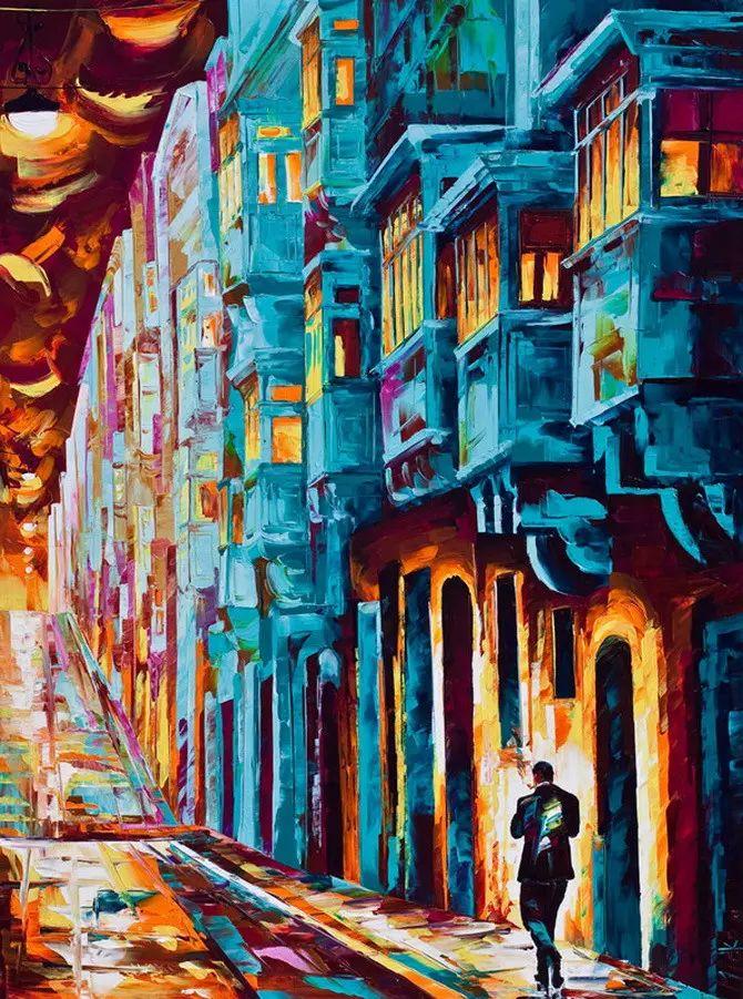 艳丽的色彩 Micko vic油画作品欣赏插图17