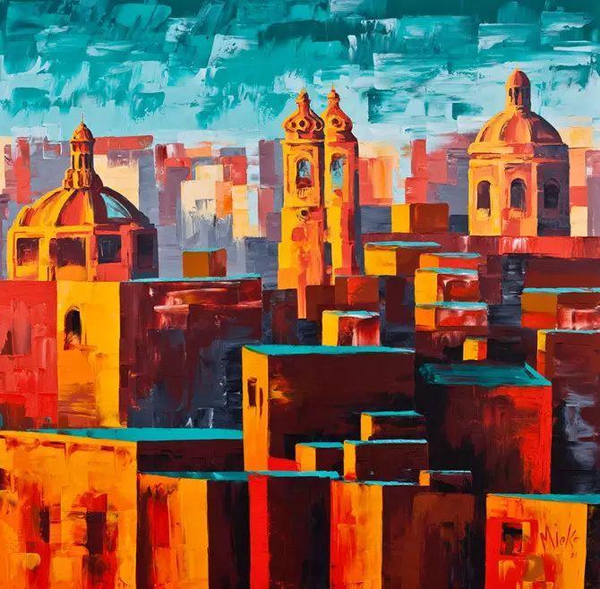 艳丽的色彩 Micko vic油画作品欣赏插图19