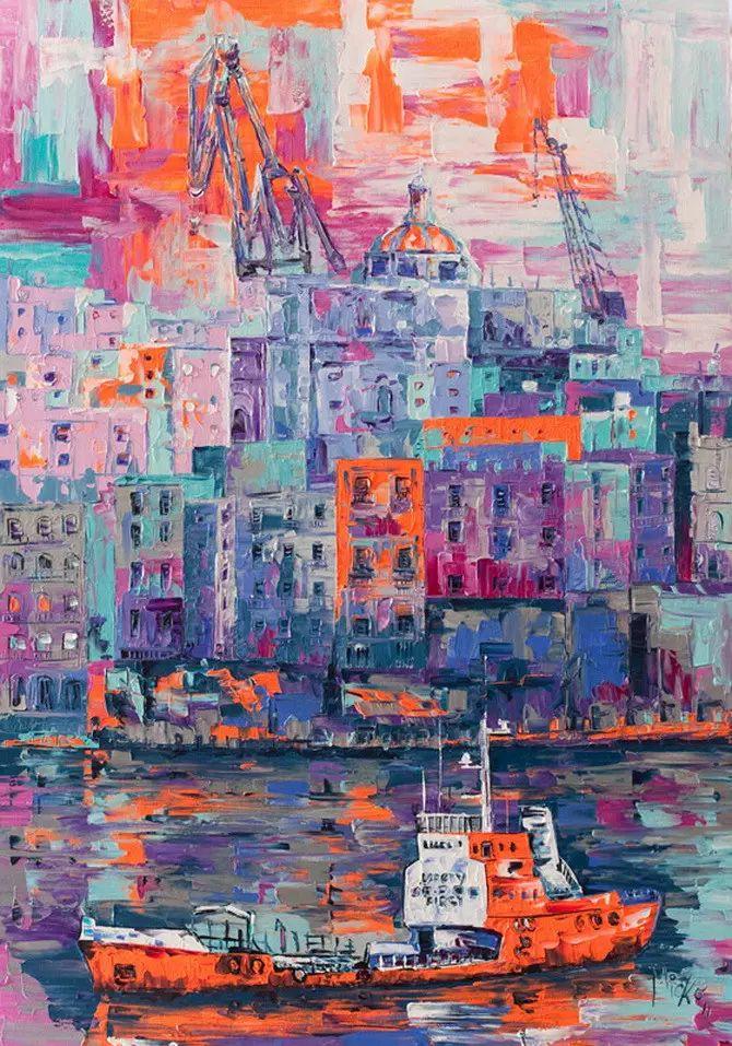 艳丽的色彩 Micko vic油画作品欣赏插图21