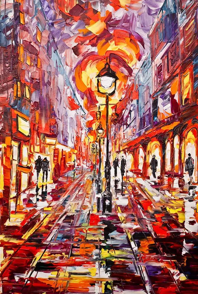 艳丽的色彩 Micko vic油画作品欣赏插图23