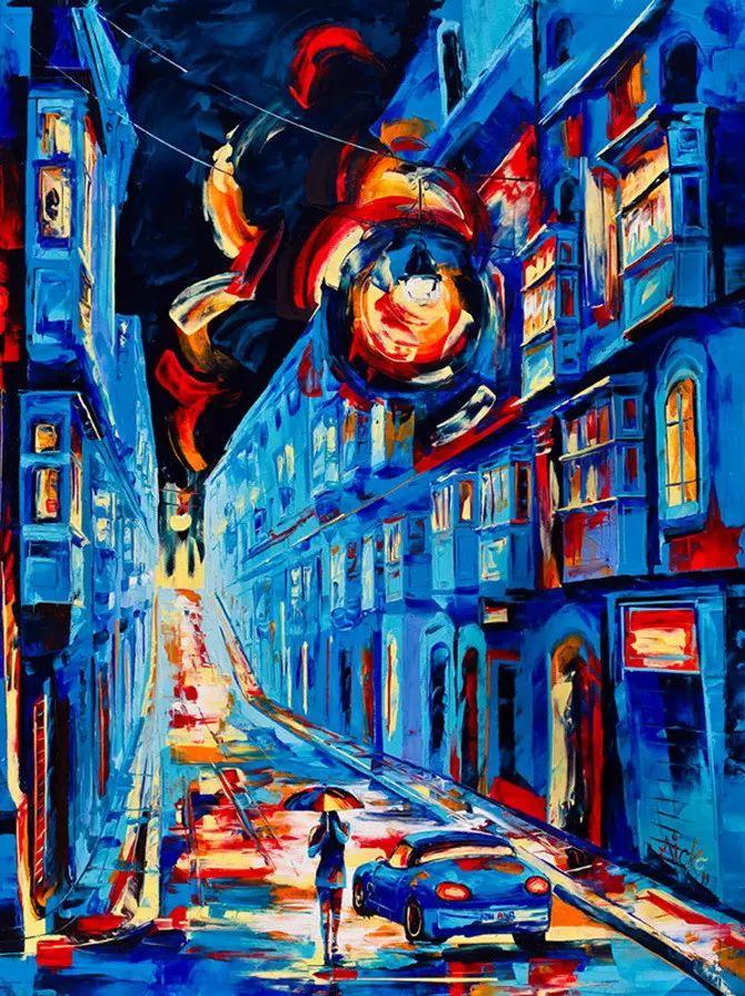 艳丽的色彩 Micko vic油画作品欣赏插图25
