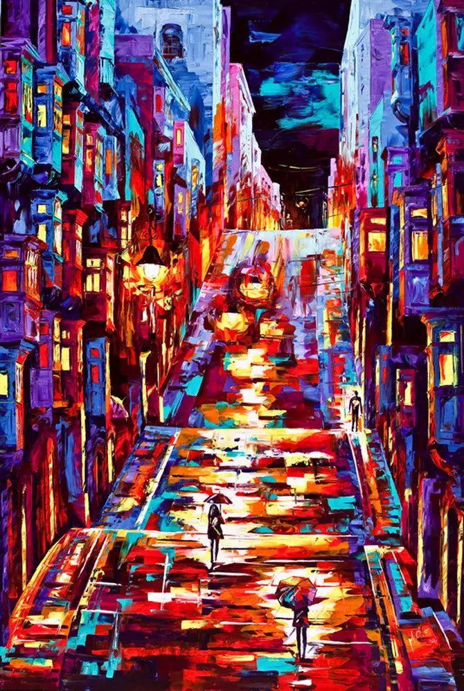 艳丽的色彩 Micko vic油画作品欣赏插图27