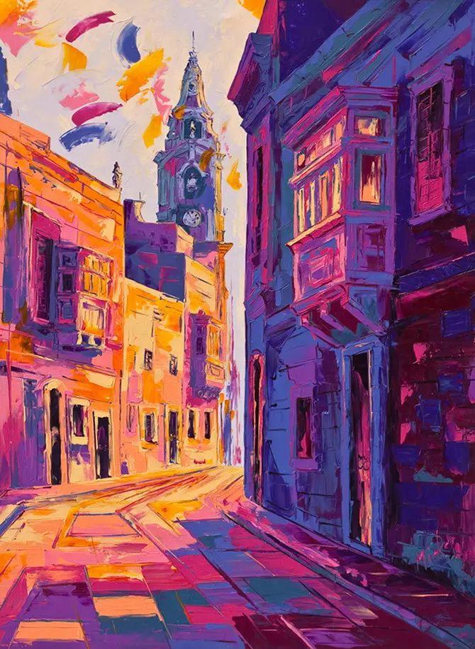 艳丽的色彩 Micko vic油画作品欣赏插图29