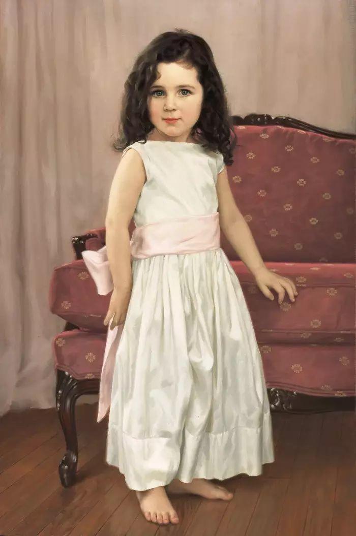 美国杰弗里·基尔Geoffrey Geary肖像油画插图5
