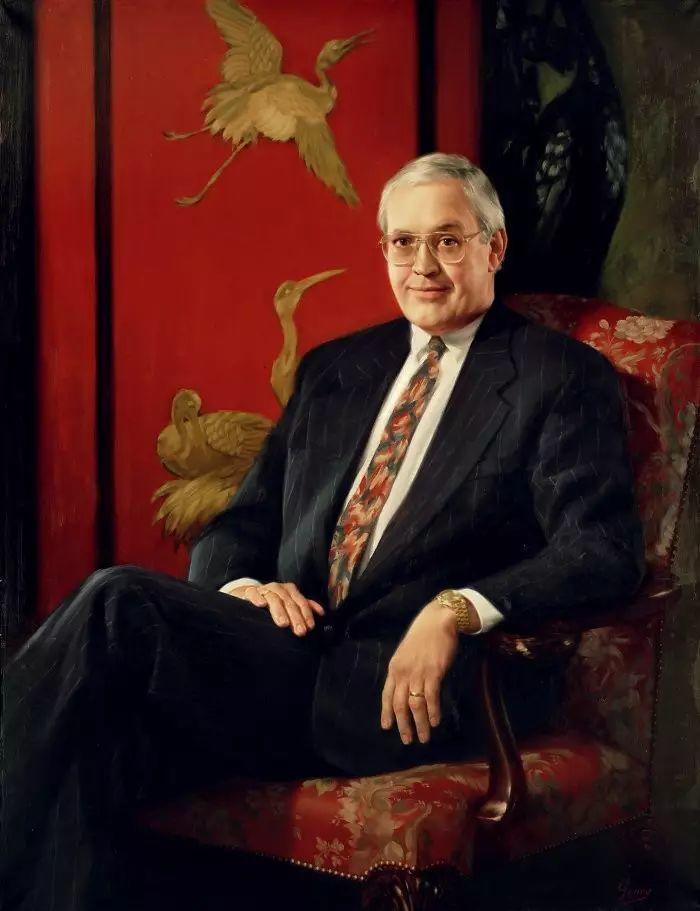 美国杰弗里·基尔Geoffrey Geary肖像油画插图13