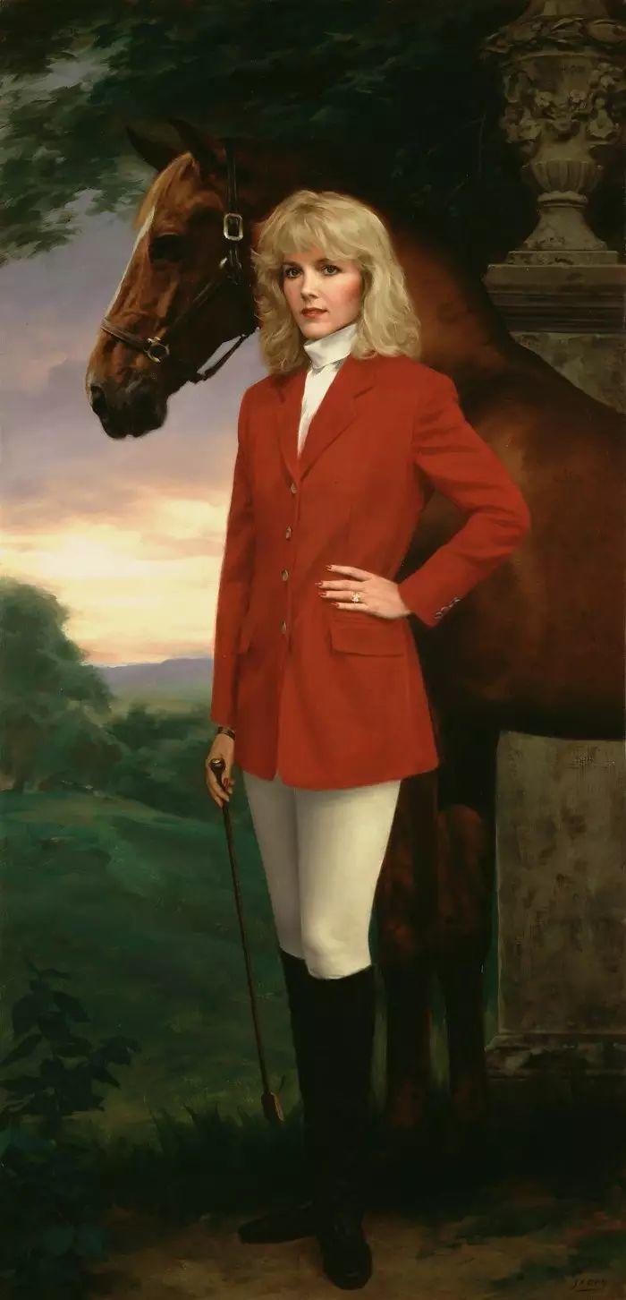 美国杰弗里·基尔Geoffrey Geary肖像油画插图21