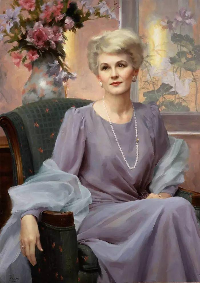 美国杰弗里·基尔Geoffrey Geary肖像油画插图23