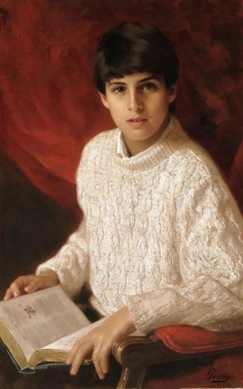 美国杰弗里·基尔Geoffrey Geary肖像油画插图25