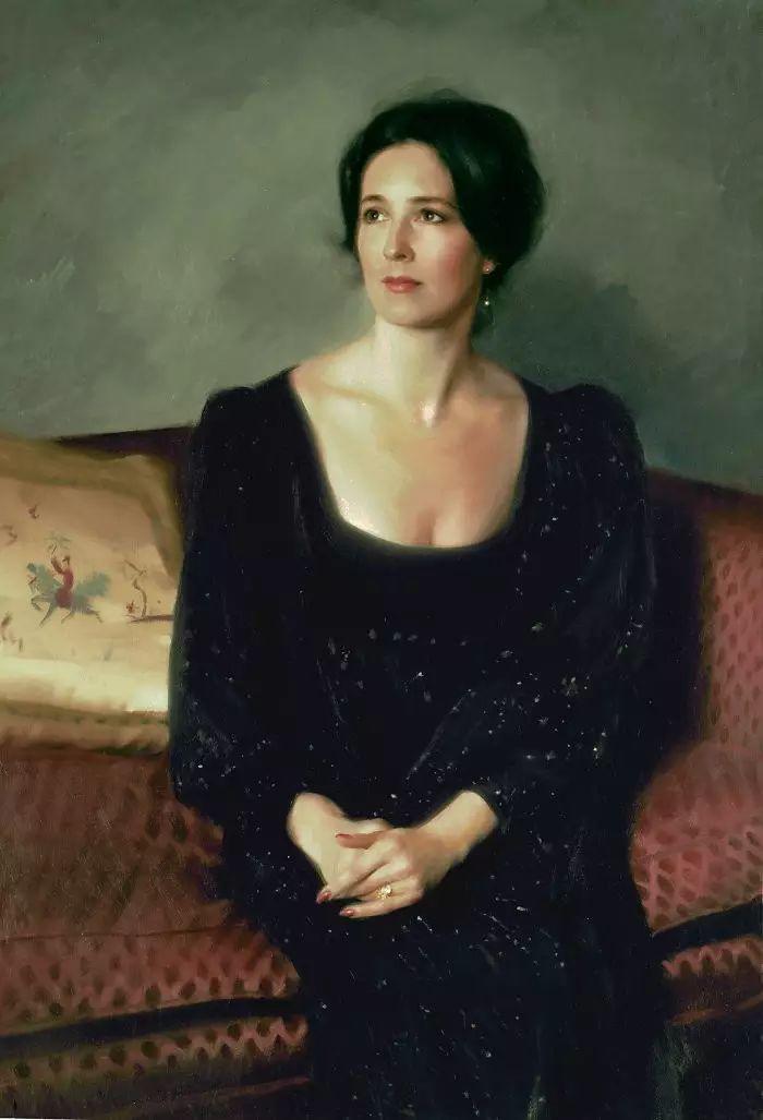 美国杰弗里·基尔Geoffrey Geary肖像油画插图27
