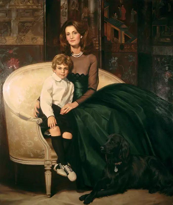 美国杰弗里·基尔Geoffrey Geary肖像油画插图35