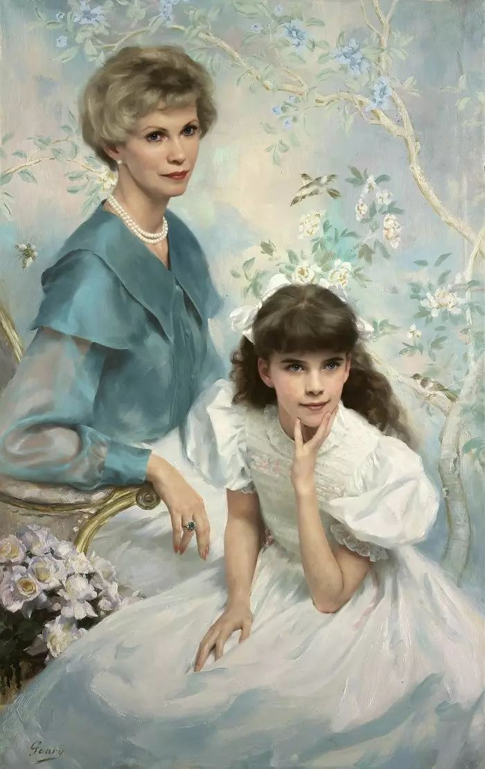 美国杰弗里·基尔Geoffrey Geary肖像油画插图37