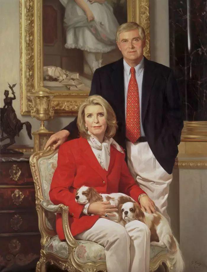 美国杰弗里·基尔Geoffrey Geary肖像油画插图39