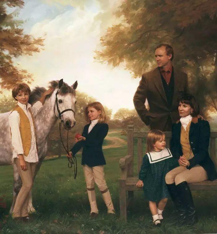 美国杰弗里·基尔Geoffrey Geary肖像油画插图41